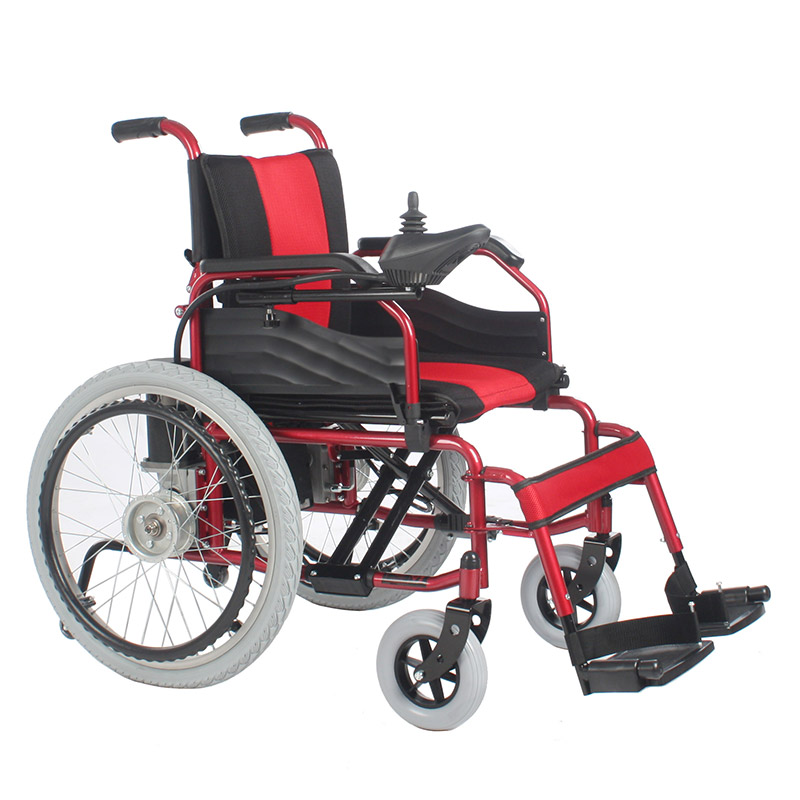 WOFFTOWN110 Folding Automatic Outdoor Electric Wheelchair