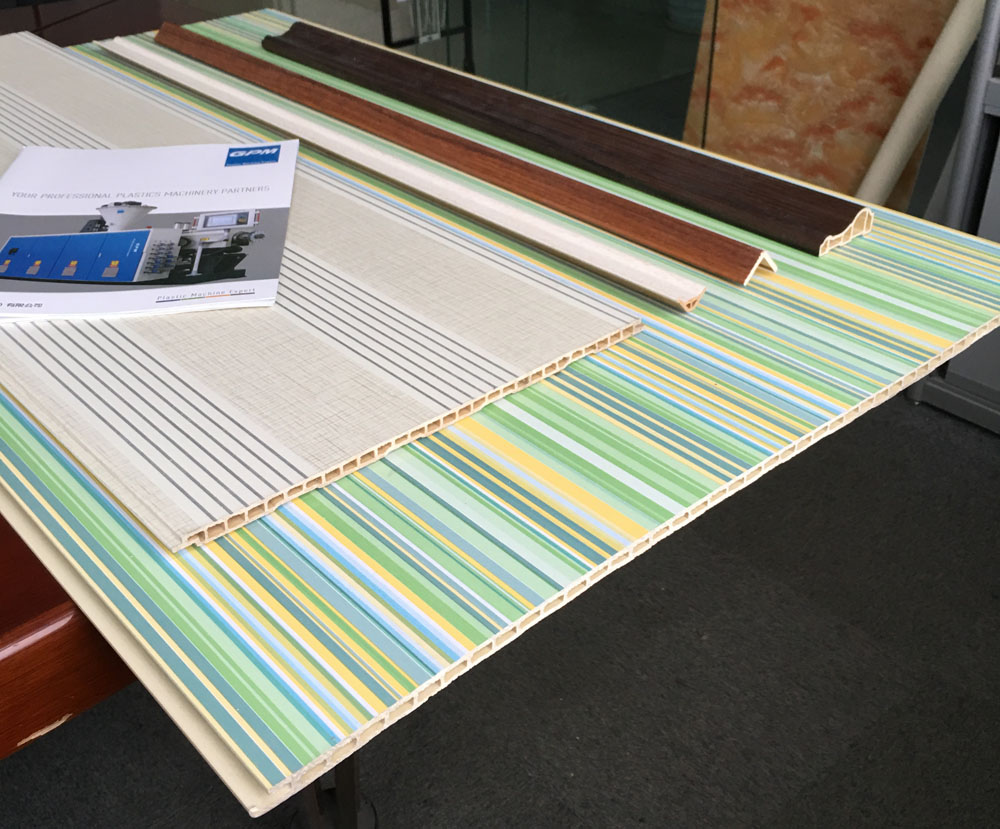 PVC decor panel production line