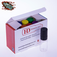 HD 10ml bottle + label + box, custom your own eliquid packaging