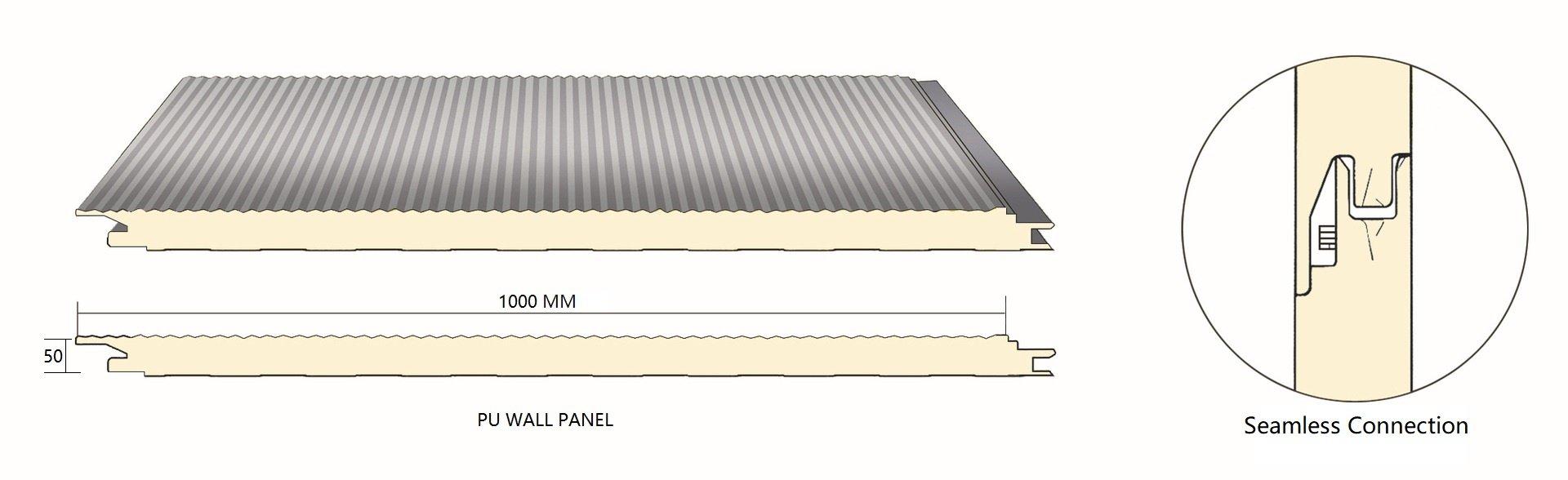 PU wall panel-BRDECO