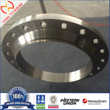 AMSE/ANSI B16.47 High Quality WN500 Titanium Pipe Flange For Manhole Flange