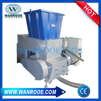 Plastic shredder-crusher Machine Two in One