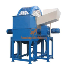 Waste tire recycling line