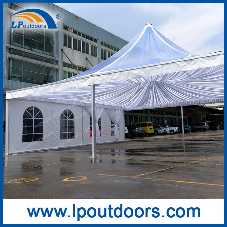 Big Size Outdoor Clear Top Pagoda Tent for Meeting