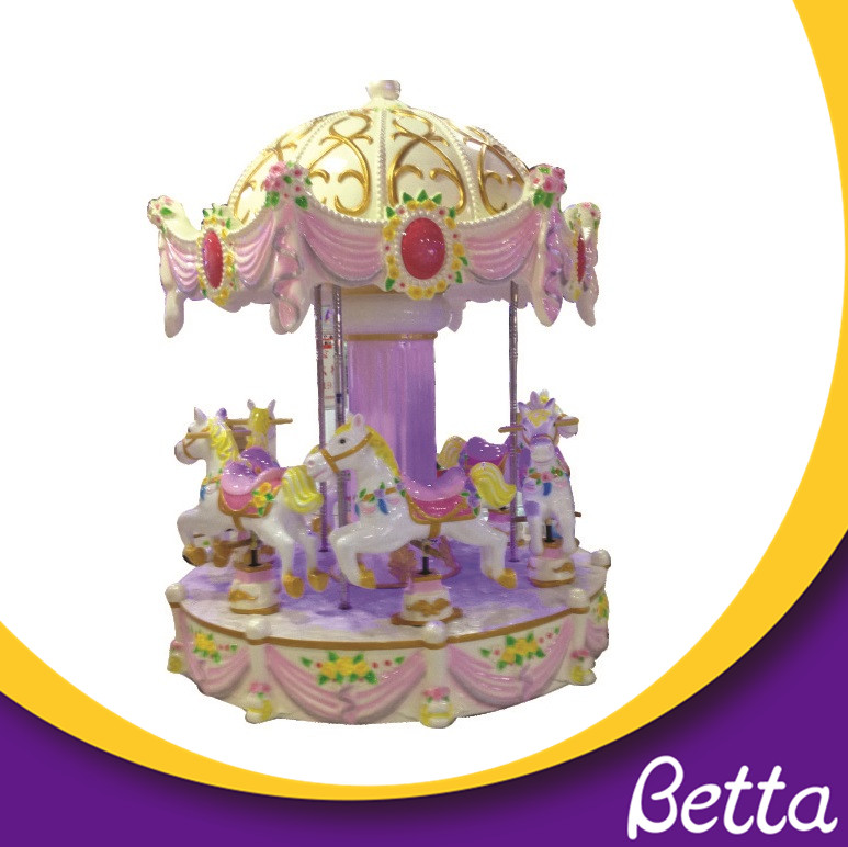 Outdoor Kids Amusement Rides Merry Go Round Christmas