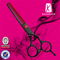 Razorline CK100R&B Professional Hair cutting Scissor with WCA and BSCI certificate