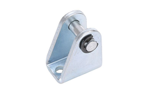 ISO 6432 Stainless Steel Mini Cylinders MI Trunnion Bracket With Pin