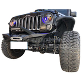 Top Fire Design Front Bumper for Jeep Wrangler JK