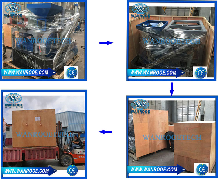 PE Disc Plastic Pulverizer packing