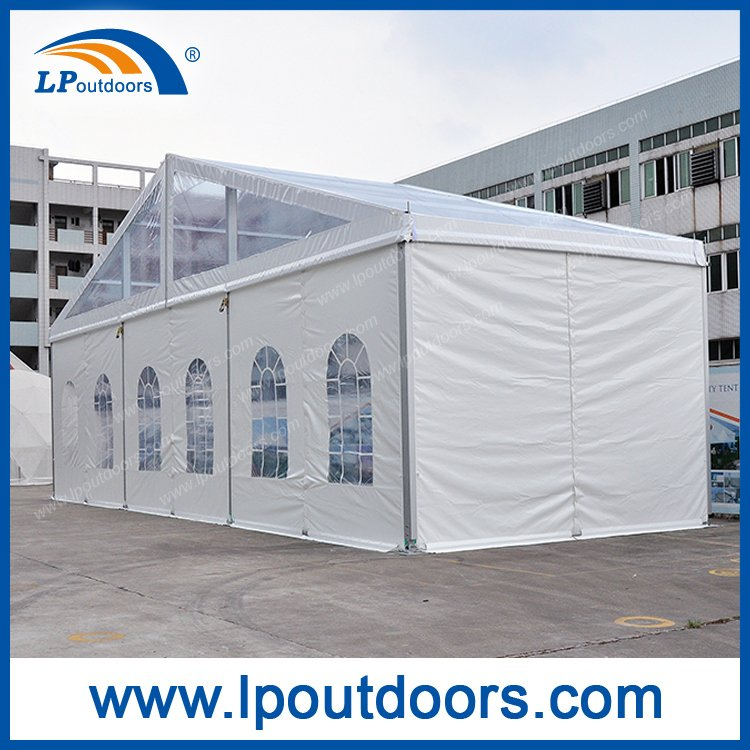 15X30m Outdoor Aluminum Marquee Clear Roof Losberger Tent for Event