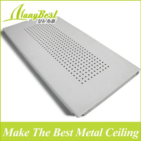 2018 China Popular 300*600 High Quality Decoration Aluminum Clip in Ceiling tiles
