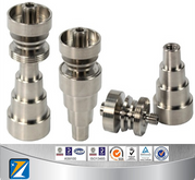 GR2 10&14&19mm 6 IN 1 domeless titanium nail,with male and female