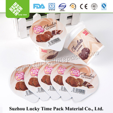 aluminium foil lid for yogurt cup and food container