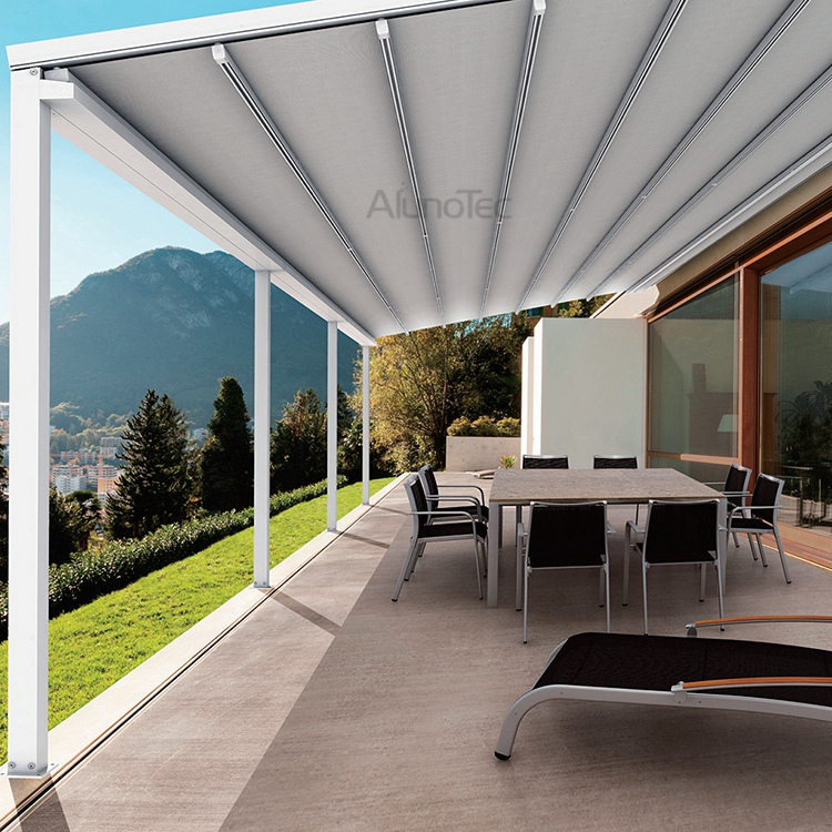 triangle awnings all roof awning round year commercial side from fixed ie retractable