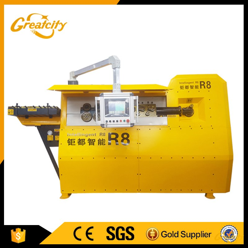 5MM Single Wire Process Automatic CNC Bar Bending Machine
