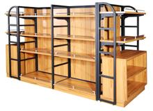 佳构超市钢木货架