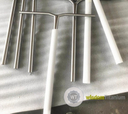 TIG titanium scooter bend bars
