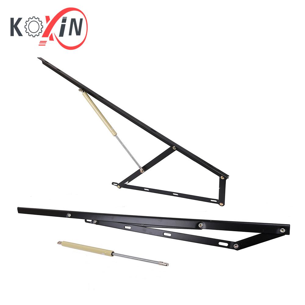Bed Lift Mechanism 1100mm black  sc 1 st  Bed Lift Mechanism & 1100mm Bed Storage Gas Piston Lift Mechanism Storage Bed Lift ...