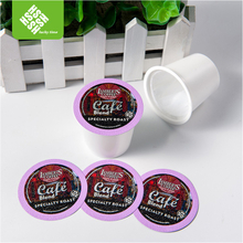 custom disposable empty coffee k cup with filter
