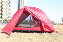 Ultralight Portable camping tent The Expedition Series Red Single Waterproof