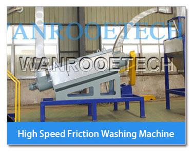 high speed friction washing machine