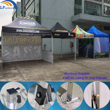 High Quality Aluminum Advertising Promotion Display Canopy Tent