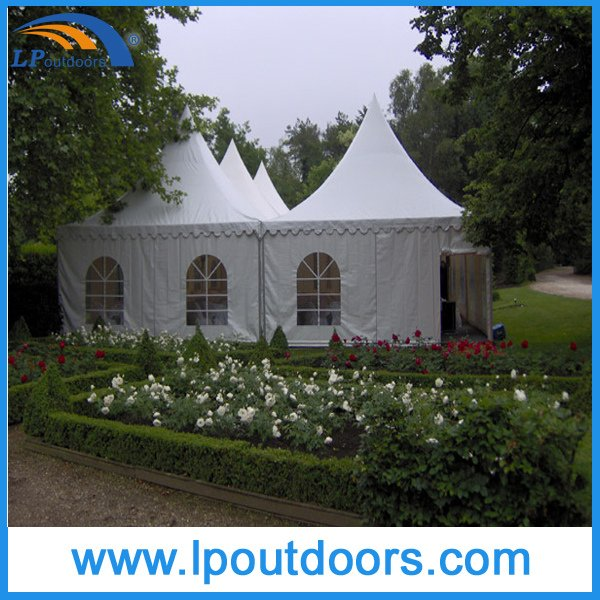 Easy Installation Pagoda PVC Tent for Sale with PVC Wall