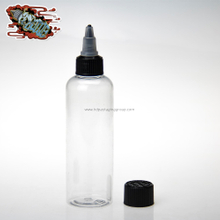 HD pet bottle with twist off cap 120ml plastic eliquid bottles