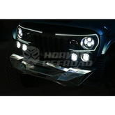 New Design Grill with Led Ligts for Jeep Wrangler Jk