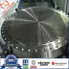 The Titanium Tube Sheet Used for Chemical Industry with GR2 As Per ASTM B381