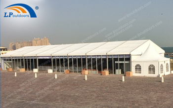 LPoutdoors Design The Newstyle Hotel Banquet Party Tent In Qatar
