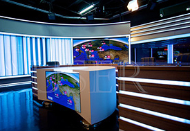 Serbia Army Control Room, 55inch LCD Video Wall, 3×14