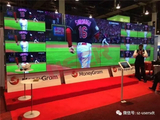 MoneyGram Las Vegas Show, 55inch LCD Video Wall