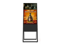 43'' A frame floor standing LCD digital signage