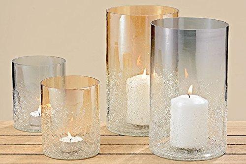 Deko windlicht vase maris teelichthalter kerzenhalter glas