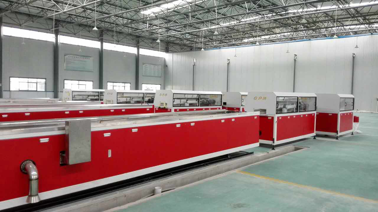PE Wood Plastic Composite Extrusion line