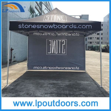 10X10′ Hot Sale Half Sidewall Display Folding Canopy