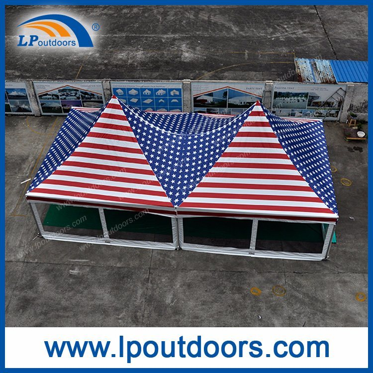 20X40' Outdoor High Peak Full Logo Printing Spring Top Tent for Sale