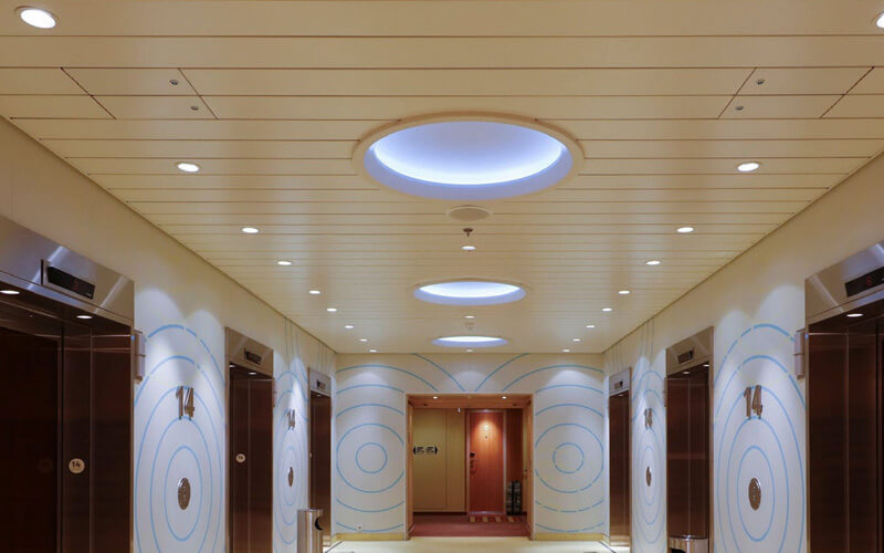 aluminum strip ceiling