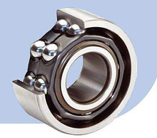 Double Row Angular contact ball bearing - shields type ZZ
