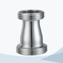 Sanitary male threading concentric reducer pipe fitting