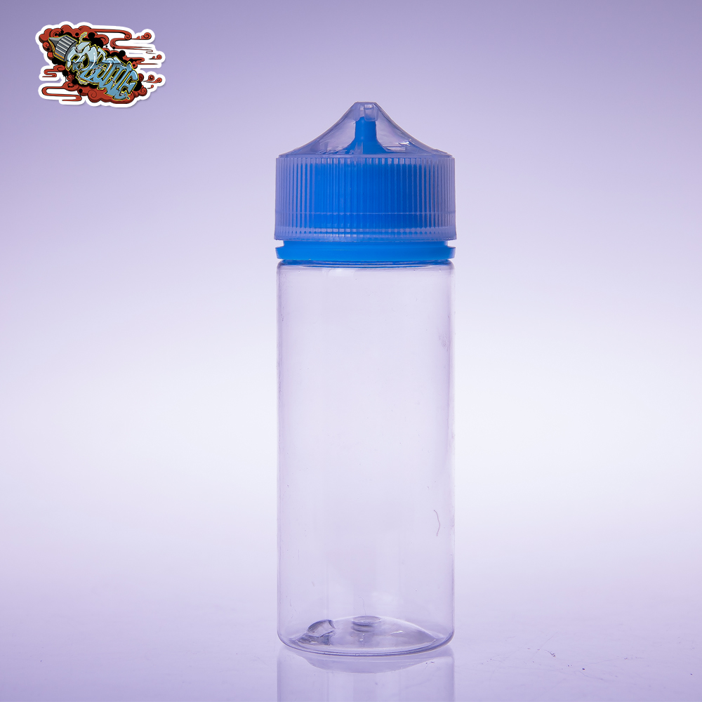 HD 120ml Squeezable Unicorn PET E Liquid Bottle with Take Off Tip