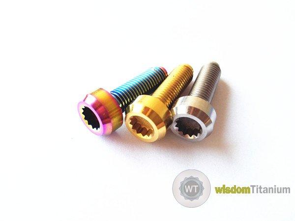 titanium 3 piece wheel bolt