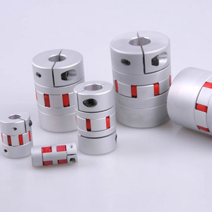 Aluminium flexible shaft coupling for ball screw lead screw
