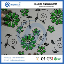 8mm 10mm 12mm silk screen printing tempered glass