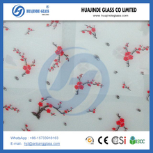 Silk Printing Colored Decorative Tempered Glass Manufacturer