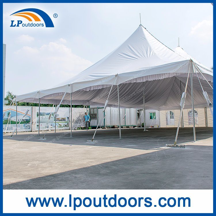 40X60' Outdoor Wedding Marquee Steel Pole Tent for Sale