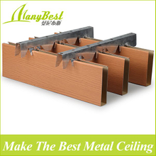 2018 Hot Sales False Aluminum Baffle Ceiling Designs