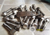 Titanium Ferrari Wheel Lug Bolt 52mm Hex Head