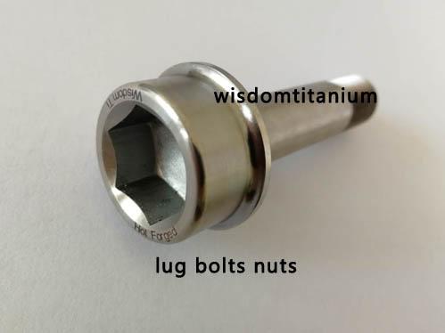 hot forged titanium lug bolt
